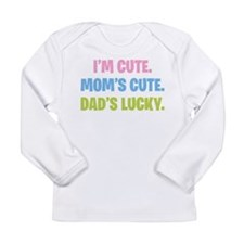 Dad's Lucky Long Sleeve Infant T-Shirt