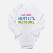 Dad's Lucky Long Sleeve Infant Bodysuit