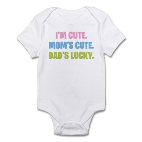 Dad's Lucky Infant Bodysuit