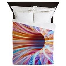 Speed of Light Queen Duvet