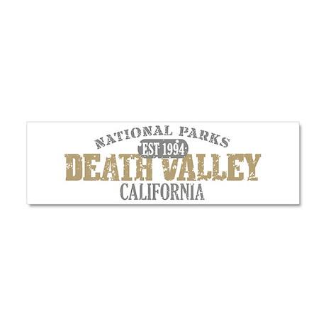 Death Valley National Park CA Car Magnet 10 x 3