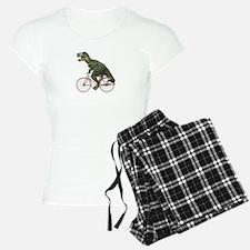 Cycling Tyrannosaurus Rex Pajamas