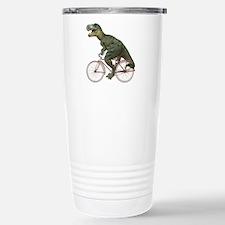 Cycling Tyrannosaurus Rex Travel Mug