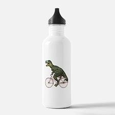 Cycling Tyrannosaurus Rex Sports Water Bottle