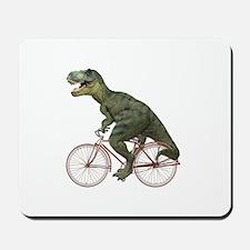 Cycling Tyrannosaurus Rex Mousepad