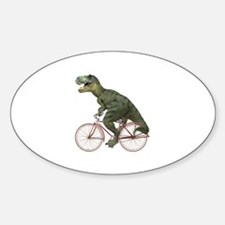 Cycling Tyrannosaurus Rex Decal