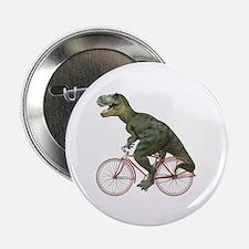 """Cycling Tyrannosaurus Rex 2.25"""" Button"""