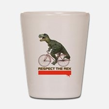 Respect Cycling Tyrannosaurus Shot Glass