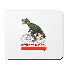 Respect Cycling Tyrannosaurus Mousepad