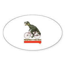 Respect Cycling Tyrannosaurus Decal