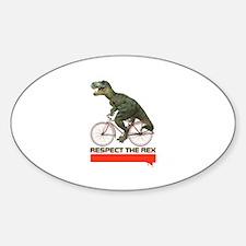 Respect Cycling Tyrannosaurus Decal