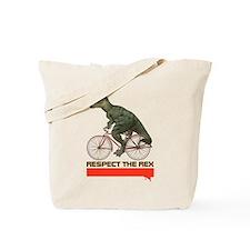 Respect Cycling Tyrannosaurus Tote Bag
