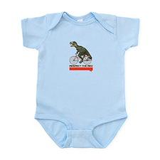 Respect Cycling Tyrannosaurus Infant Bodysuit
