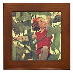 Smith's Jack & Beanstalk Framed Tile