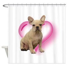 French Bulldog puppy Shower Curtain