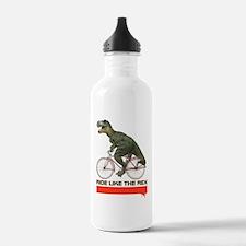 Tyrannosaurus Rex Cyclist Water Bottle