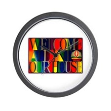 Wall Clock - Welcome All...