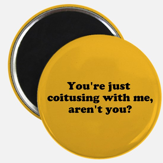 Magnet: You're just coitusing with me, aren't you?