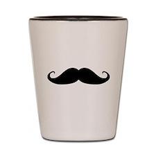 Shot Glass: Small moustache