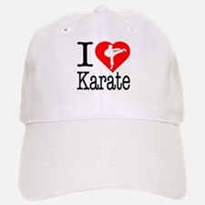I Love Karate Baseball Baseball Cap