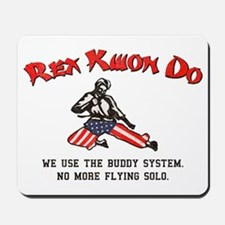 Rex Kwon Do (Vintage Look) Mousepad