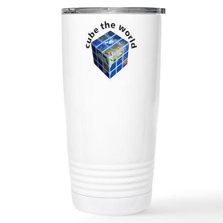 cube the world 1: Stainless Steel Travel Mug