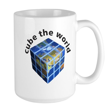 cube the world 1: Large Mug