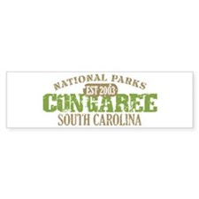 Congaree National Park SC Bumper Sticker