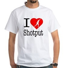I Love Shotput Shirt
