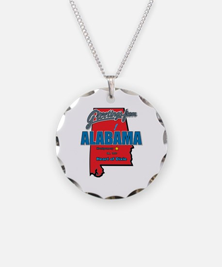 Greetings From Alabama Necklace
