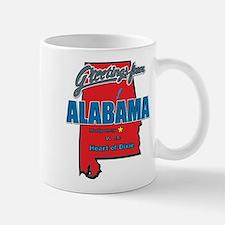Greetings From Alabama Mug