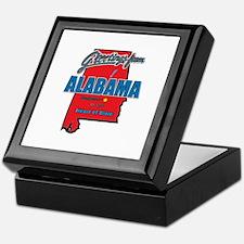 Greetings From Alabama Keepsake Box
