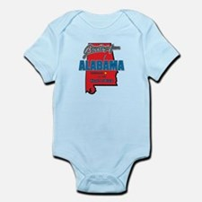 Greetings From Alabama Infant Bodysuit