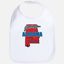Greetings From Alabama Bib