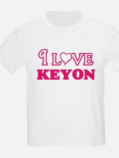 I Love Keyon T-Shirt