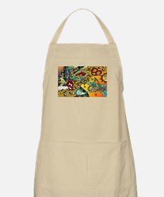 Psychedelic Cycle Of Life Apron