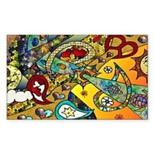 Psychedelic Cycle Of Life Decal
