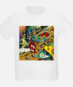Psychedelic Cycle Of Life T-Shirt