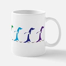 Rainbow Penguins Mug