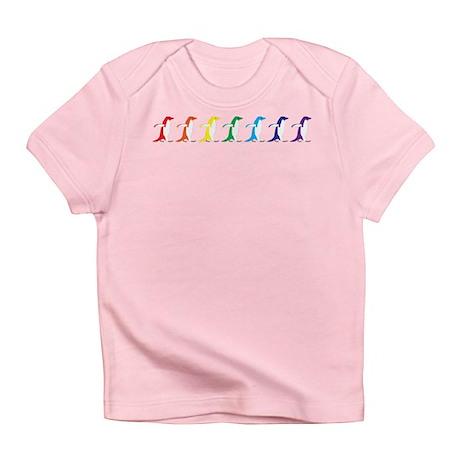 Rainbow Penguins Infant T-Shirt
