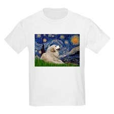 Starry Night Great Pyrenees T-Shirt