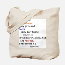 Glimmer GF/Peeta BF/Foxface Cd 1 Tote Bag
