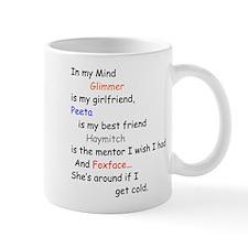 Glimmer GF/Peeta BF/Foxface Cd 1 Mug