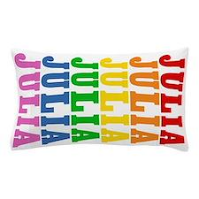 Rainbow Name Pillow Case
