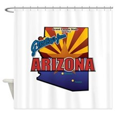 Greetings From Arizona Shower Curtain