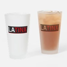 L.A. LatinX from Los Angeles Drinking Glass