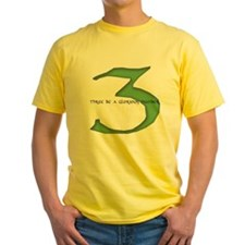 Three be a glorious number T