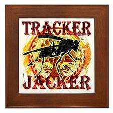 Tracker Jacker Hunger Games Gear Framed Tile