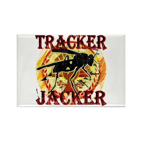 Tracker Jacker Hunger Games Gear Rectangle Magnet