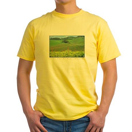 Mustard Covered Hills Yellow T-Shirt
